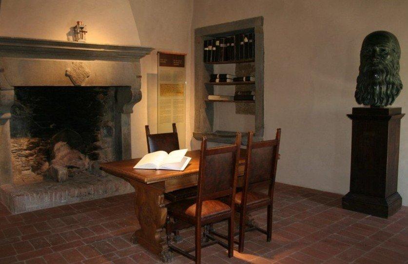 Casa natale di leonardo da vinci toscana nel cuore for Vinci una casa
