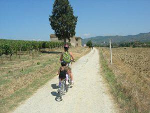 sentieri in bicicletta