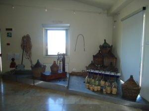 Damigiane del museo del vino